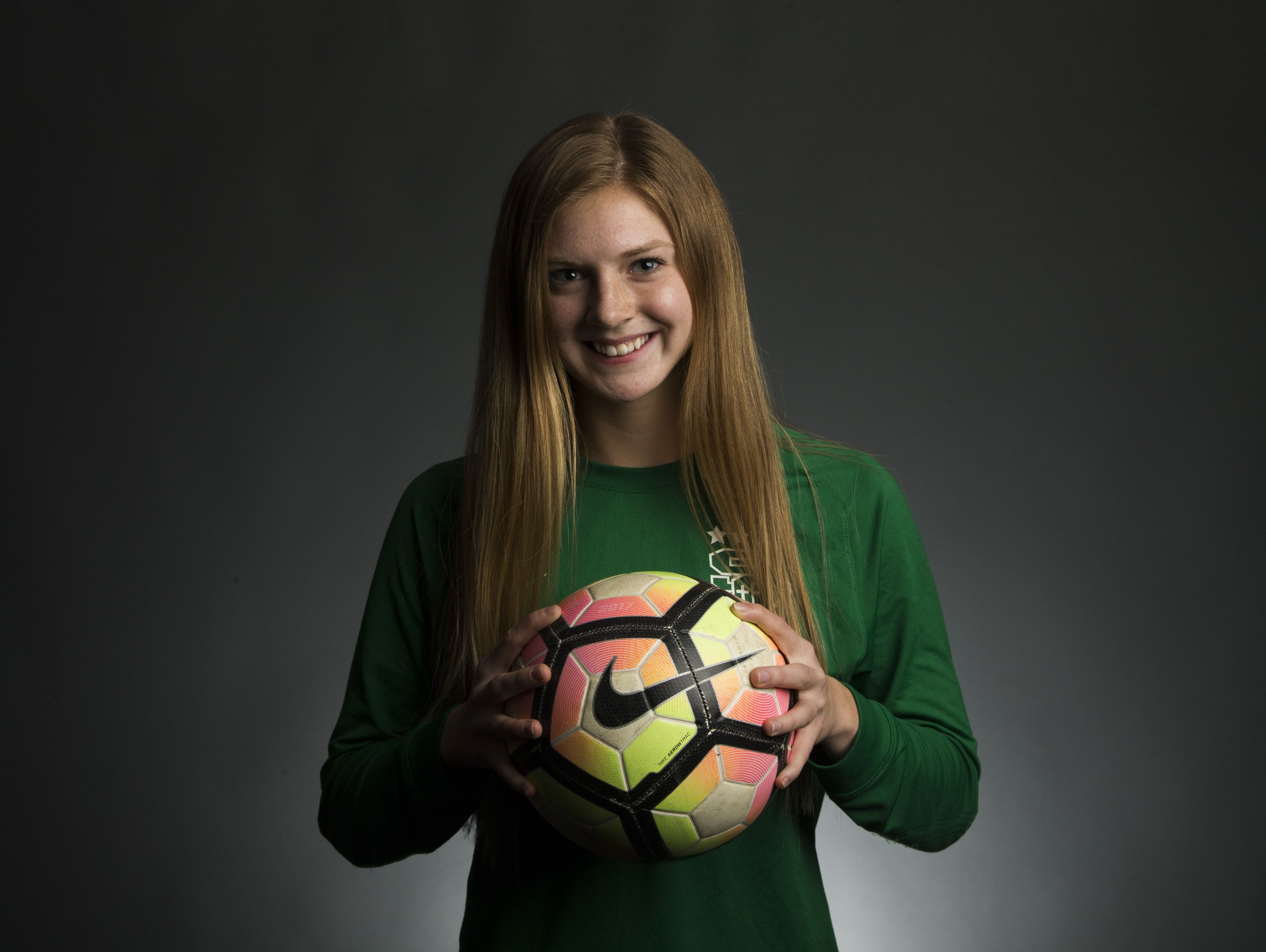 Tucson Salpointe Catholic junior goalkeeper Madison Hargis is a finalist for the azcentral.com Sports Awards Small Schools Girls Soccer Athlete of the Year award.