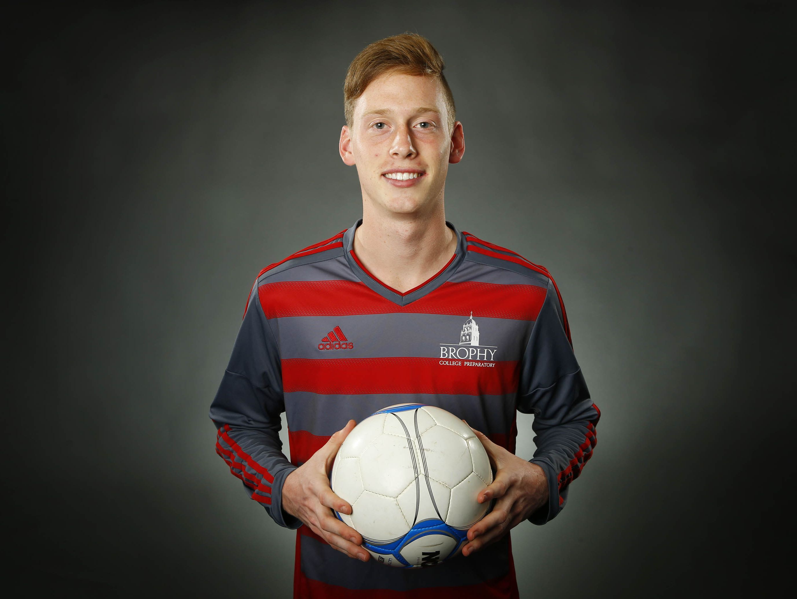 Phoenix Brophy Prep junior forward Carter Clemmensen is a finalist for the azcentral.com Sports Awards Big Schools Boys Soccer Athlete of the Year award.