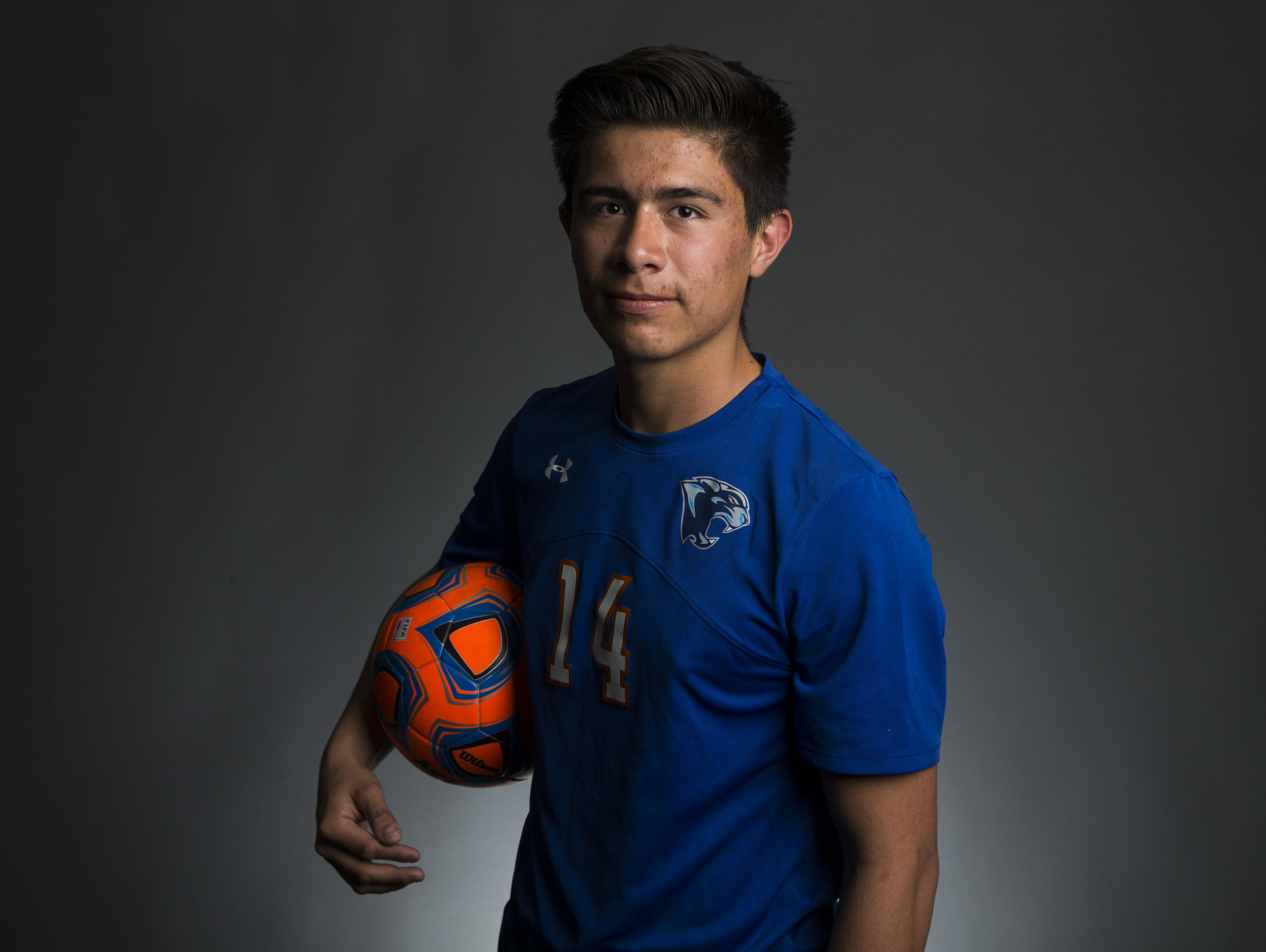 Chino Valley senior forward Arturo Gomez is a finalist for the azcentral.com Sports Awards Small Schools Boys Soccer Athlete of the Year award.