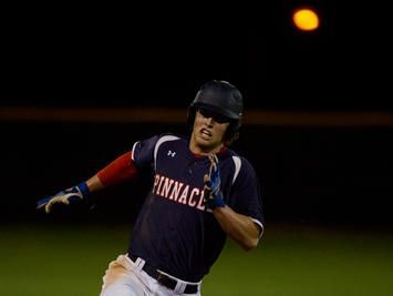 Pinnacle senior shortstop Jake Holmes is the Hitter of the Week after leading top-ranked team to tournament title at Horizon.