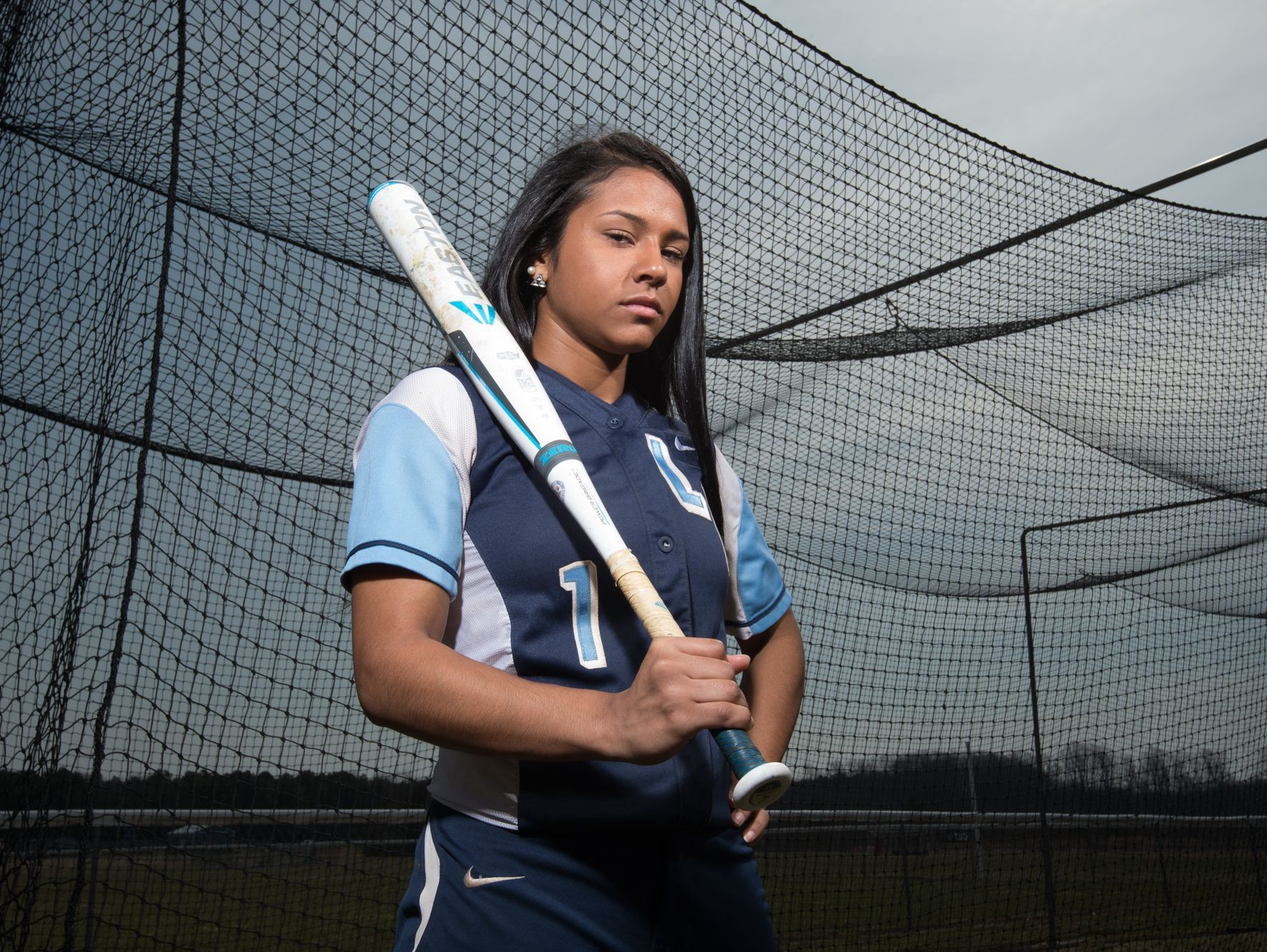 Returning All-State center fielder Mya Maddox is one of the key players on the Lake Forest softball team.