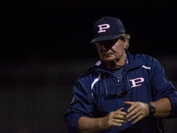 Pinnacle baseball coach Roy Muller is the halfway point Coach of the Year