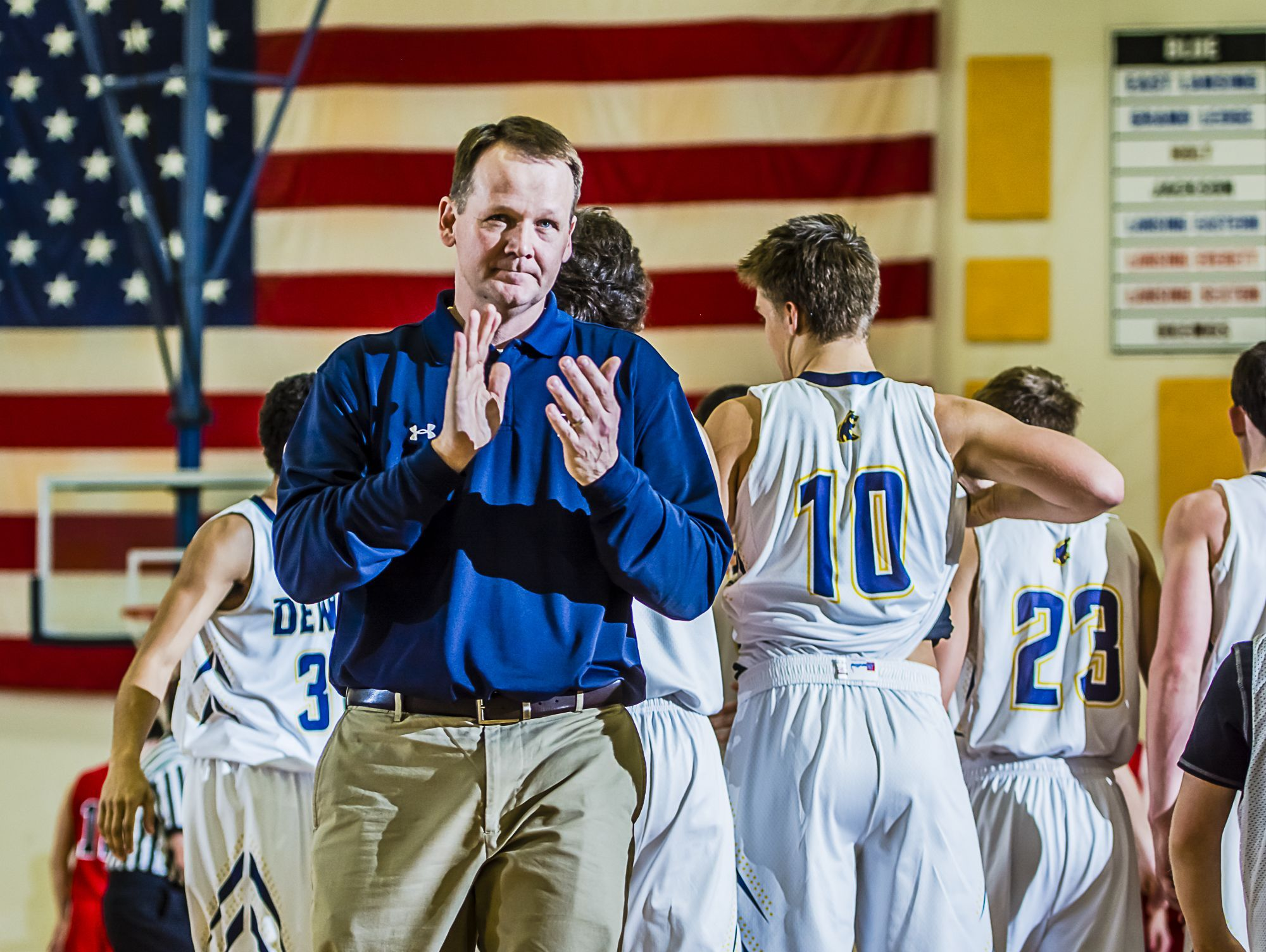 Ron Marlan has stepped down as the coach of the DeWitt boys basketball program after 14 seasons to spend more time with family.