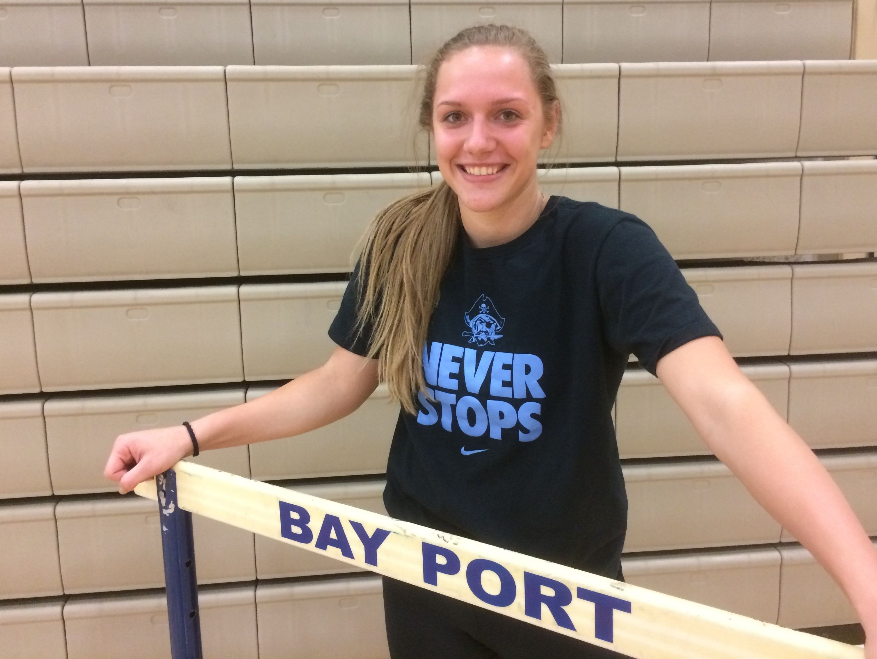Bay Port senior Taylor Arbour has played multiple sports throughout high school and will enroll at the United States Naval Academy.