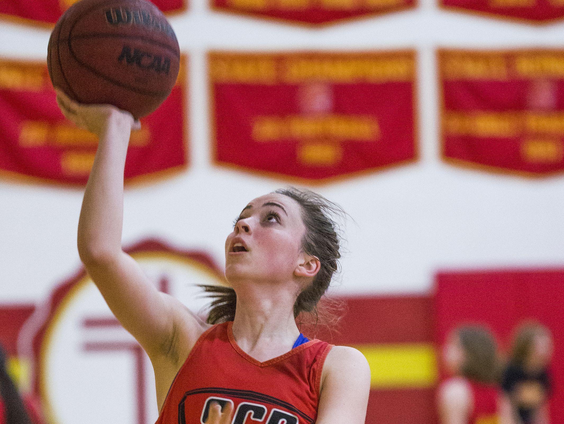 Sarah Barcello is a standout basketball player at Chandler Seton Catholic.