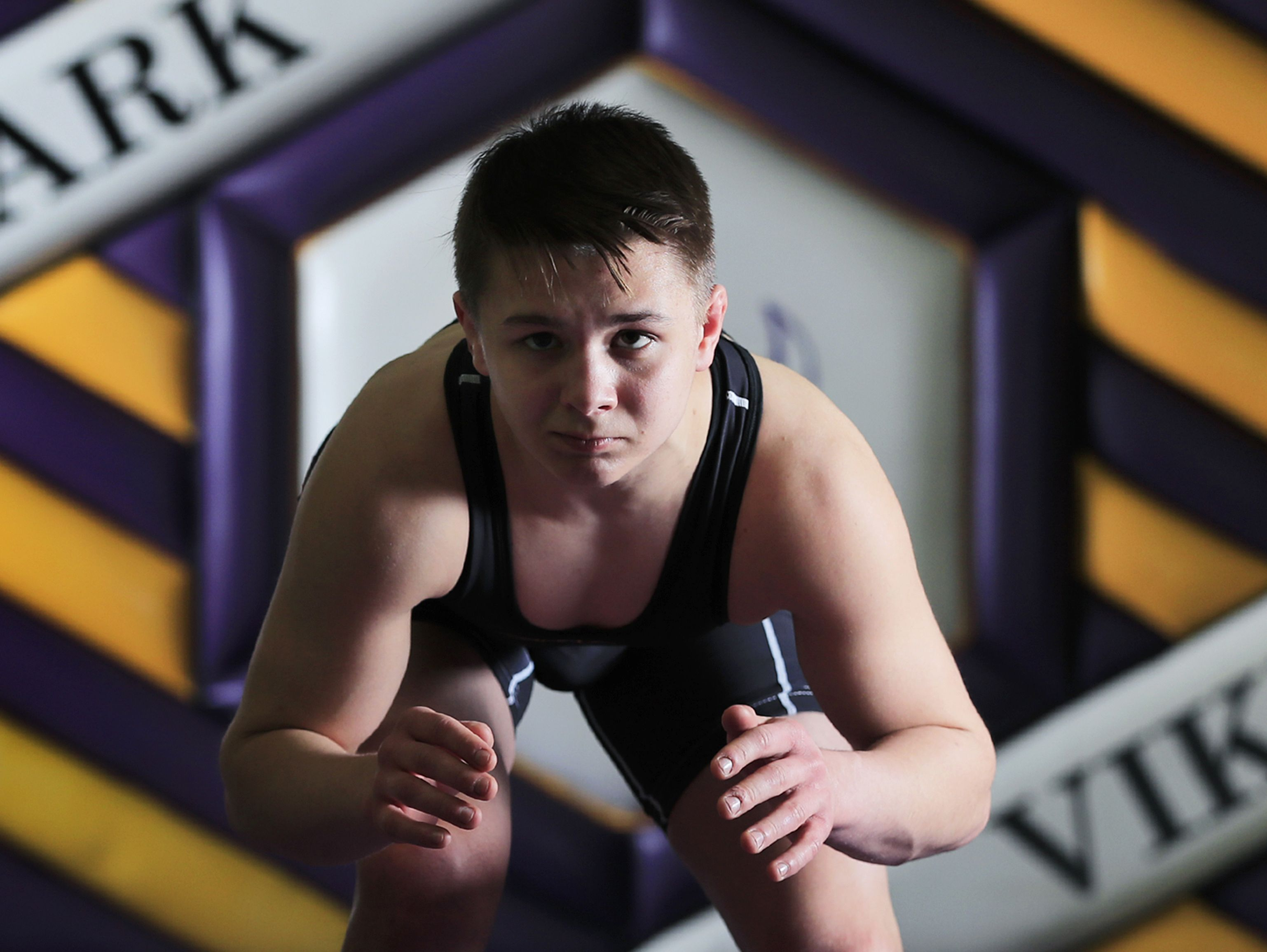 Denmark senior Brock Bergelin is the 2017 Green Bay Press-Gazette wrestler of the year. Bergelin went 37-1 to win his third WIAA Division 2 state title.