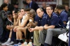 Sierra Canyon's head coach Ty Nichols is seen on the bench against La Lumiere during a high school basketball game at the 2017 Hoophall Classic on Monday, January 16, 2017, in Springfield, MA.. (AP Photo/Gregory Payan) ORG XMIT: NYOTK