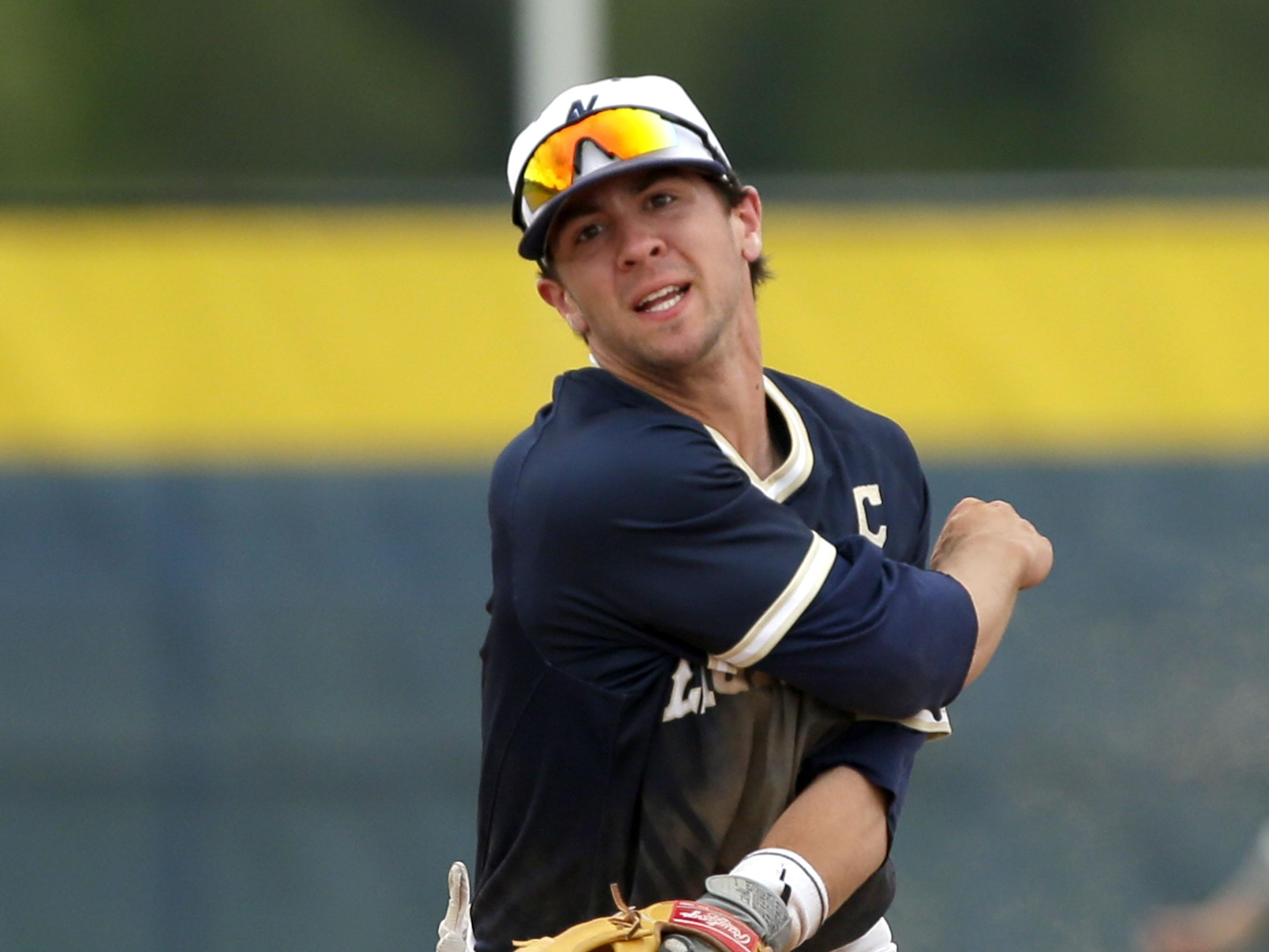 Appleton North senior shortstop Alex Henwood made the Wisconsin Baseball Coaches Association all-state first team.
