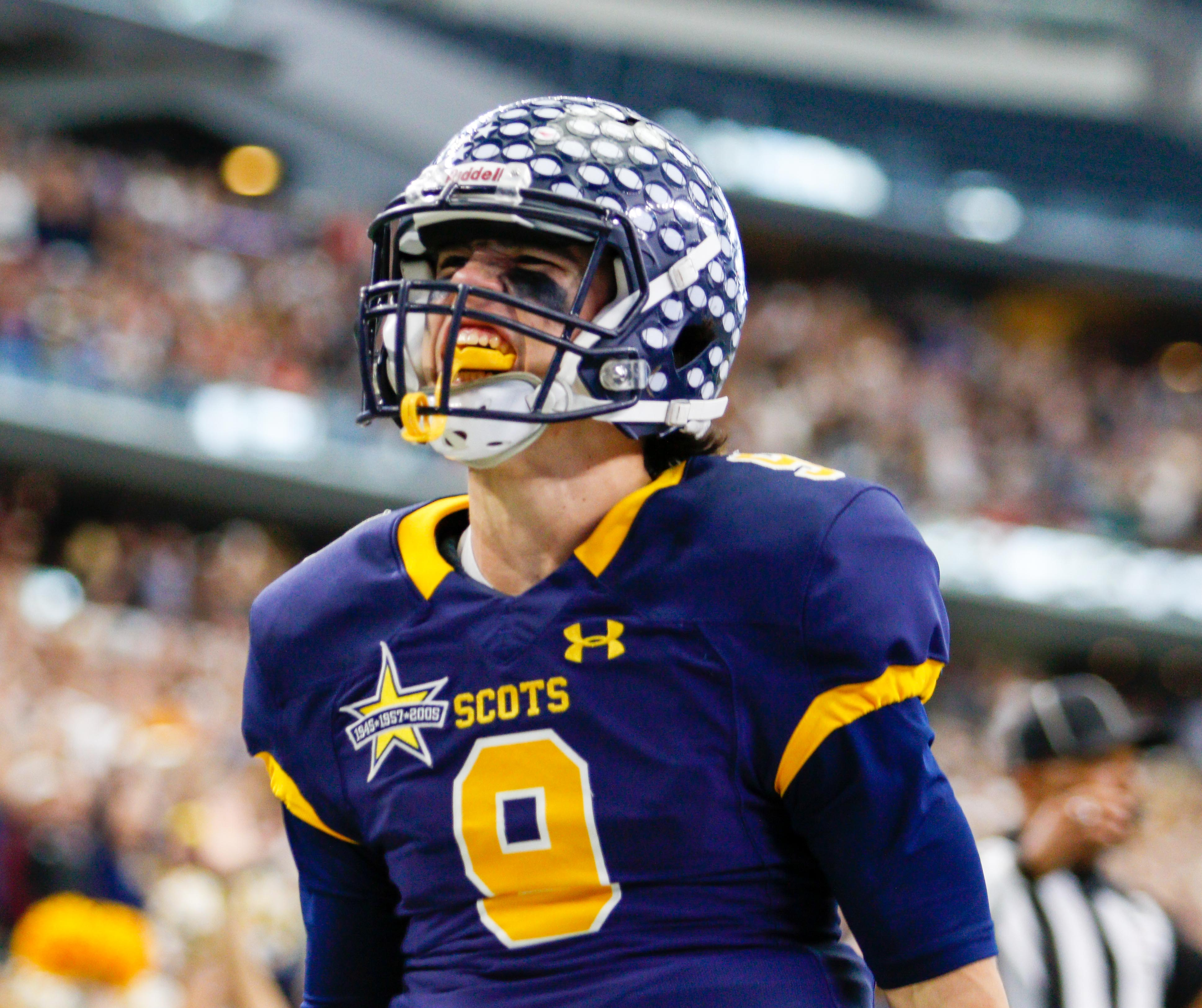 December 17, 2016 - Texas UIL 5A Div. I State Championship game between Highland Park and Temple at AT&T Stadium in Arlington, Texas. (Image Credit: John Glaser/texashsfootball.com)