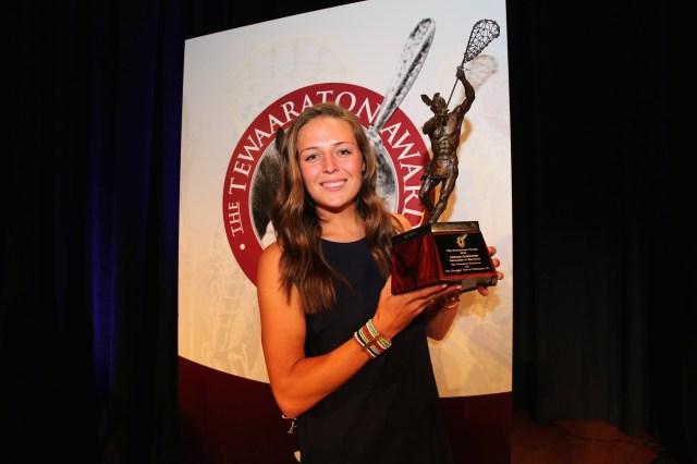 Three-time Tewaaraton Award winner Taylor Cummings (Photo: University of Maryland Athletics)