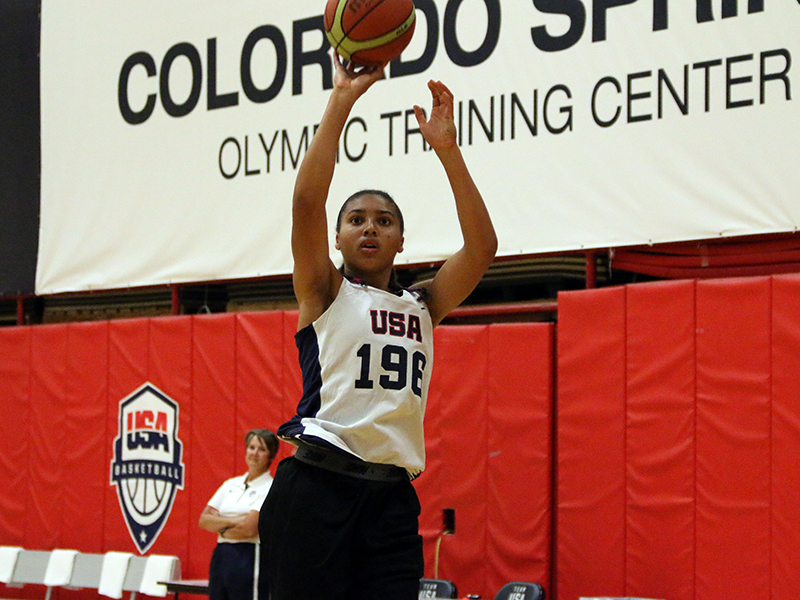 Azzi Fudd (Photo: USA Basketball)